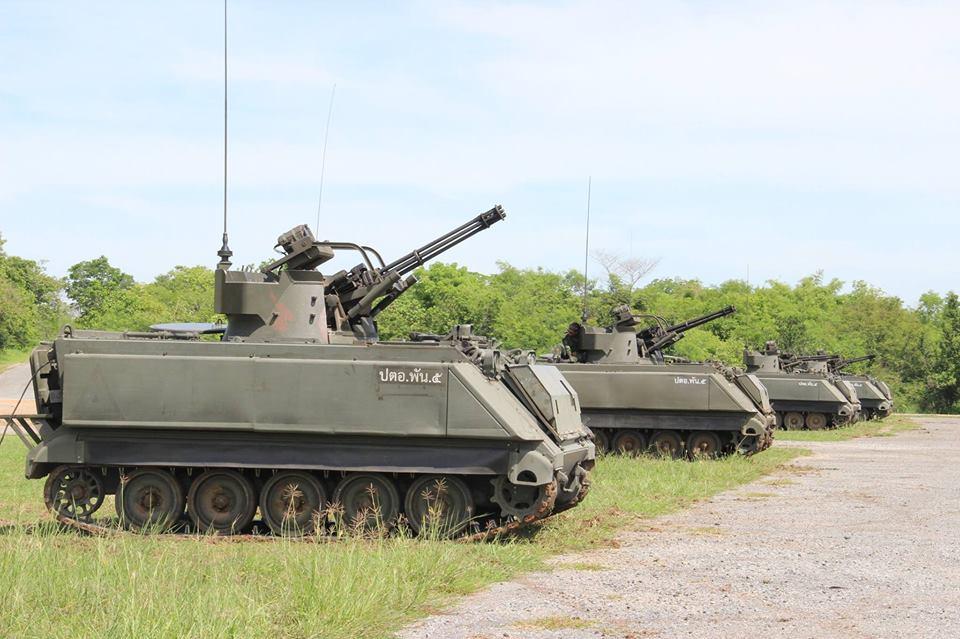 Royal Thai Army M 163 Vads Get An Upgrade Thai Military