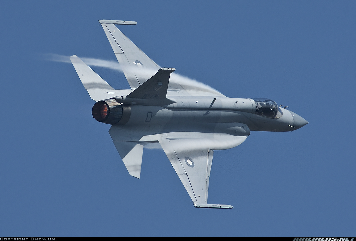 """JF-17 """"Thunder"""" fighter or CAC FC-1 Xiaolong jets 