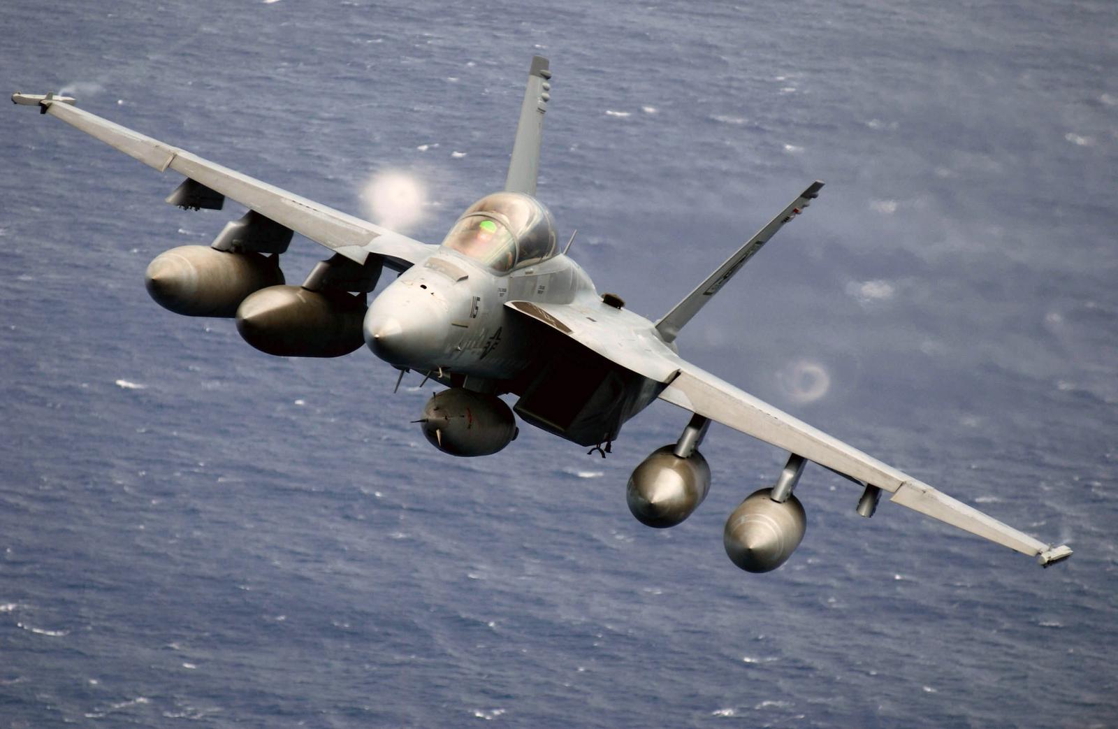 F18 Super Hornet   Tha...