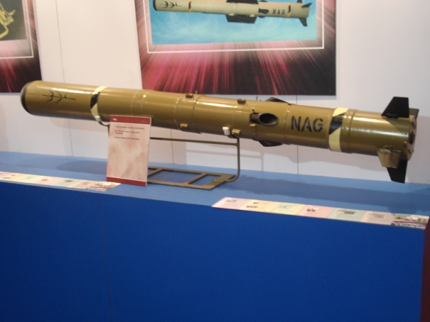Indian_Anti-Tank HELINA_Nag Missile