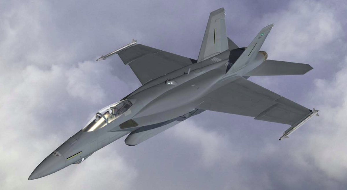 F-18 Advance Super Hornet