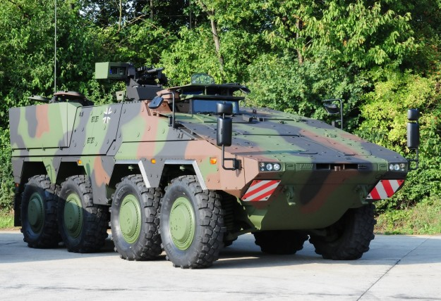 2009 Rheinmetall Boxer Armoured Personnel Carrier