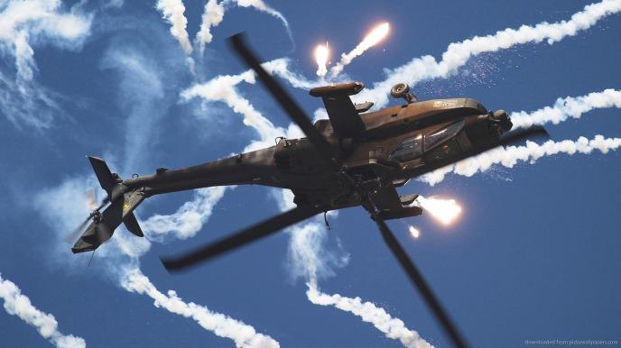 boeing-ah-64-apache-upside-down-flares-shot