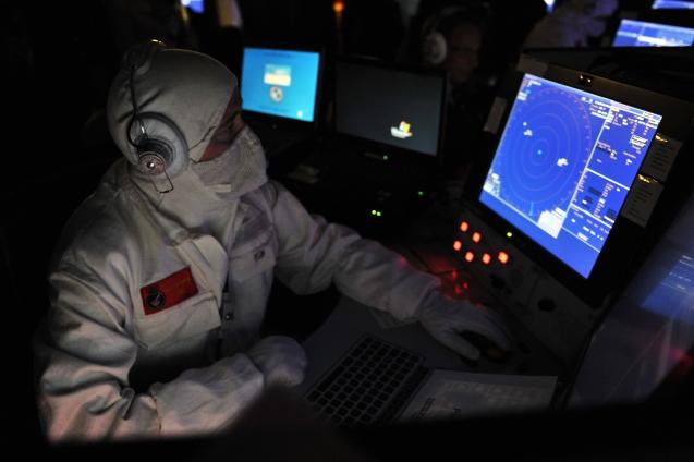HMS Daring Operations Room