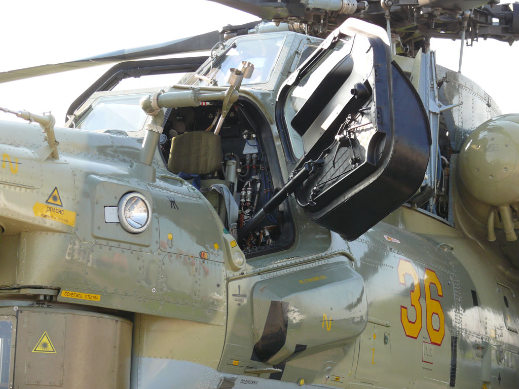 Russian Mi 28n Nm Night Hunter Attack Helicopter Thai