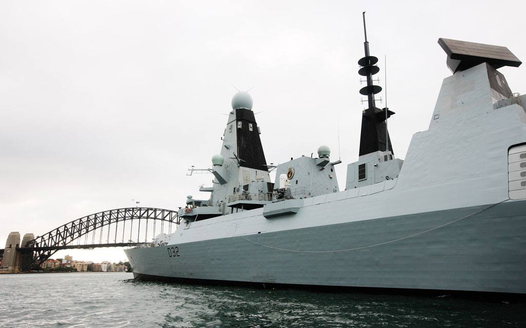 type 45 daring class destroyer thai military and asian