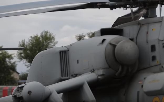 Mi-28NE VK-2500 turboshaft engines