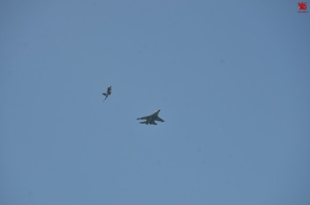 Thailand Gripens and Chinese PLAAF J-11 joint exercises 12