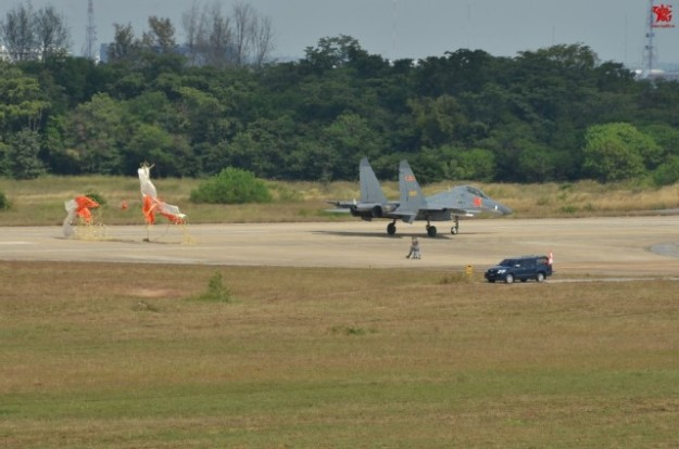 Thailand Gripens and Chinese PLAAF J-11 joint exercises 6