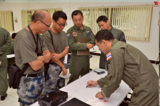 Thailand Gripens and Chinese PLAAF J-11 joint exercises 8