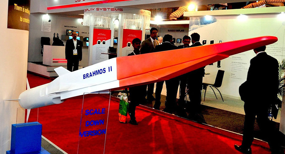 Brahmos 2 Hypersonic Cruise missile of india