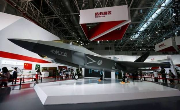 J-31 at Airshow in China held in Zhuhai