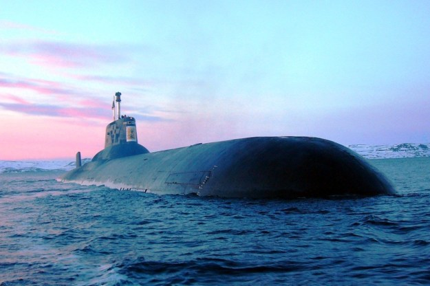 RFS Dmitry Donskoy TK-208 Russian Submarine Ship 1
