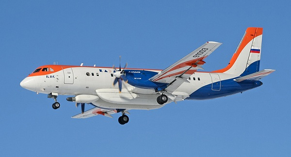 Самолёт Ил-114. Летающая лаборатория.