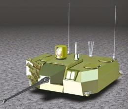Initial concept turret