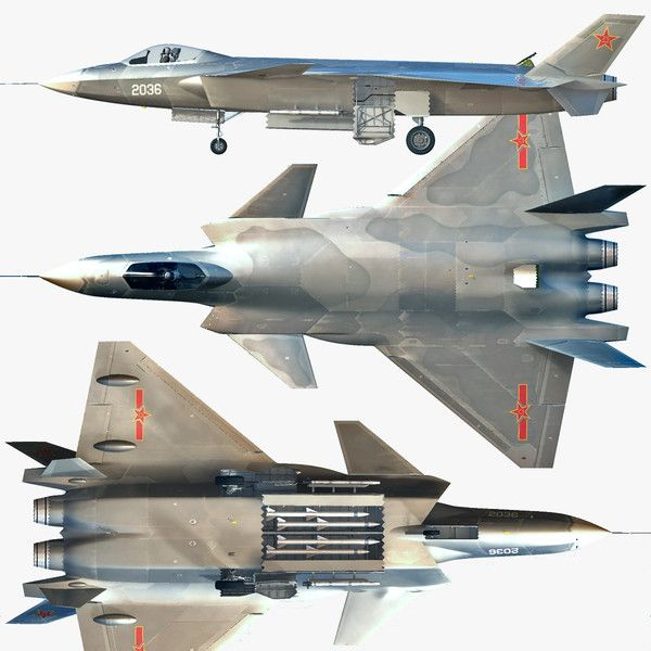 Chengdu J-20 Multirole Stealth Fighter | Thai Military and ...