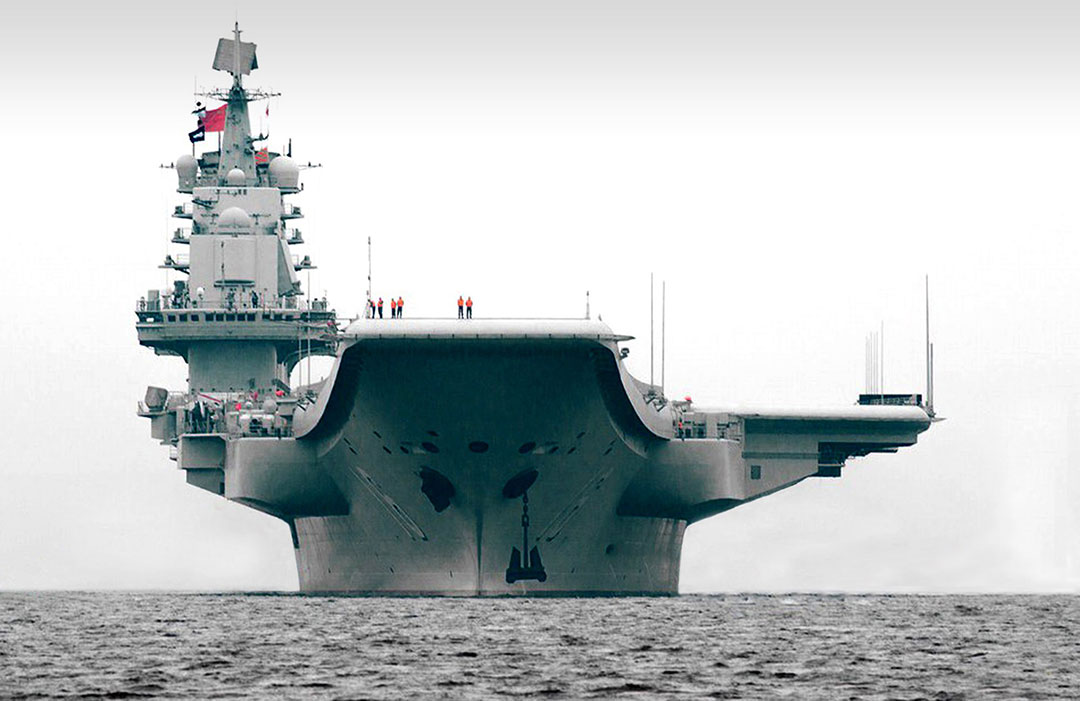 Rússia está ajudando a China a construir seu primeiro porta-aviões nuclear