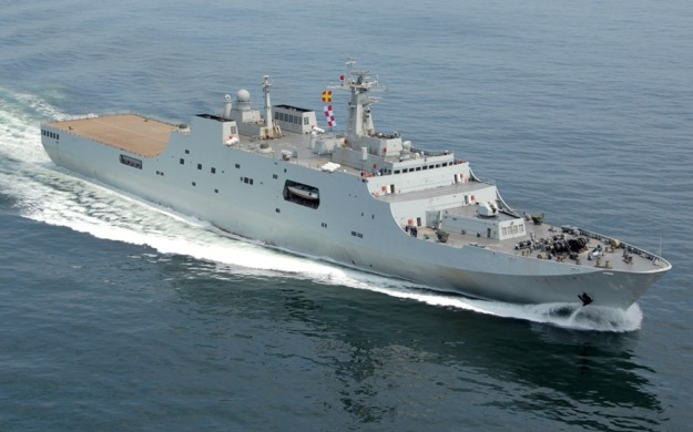 Type 071 YUZHAO Jinggang Shan__ 999 Kunlun Shan___ 998 Amphibious Transport Dock LPD amphibious warfare ships of the People's Republic of China's People's Li