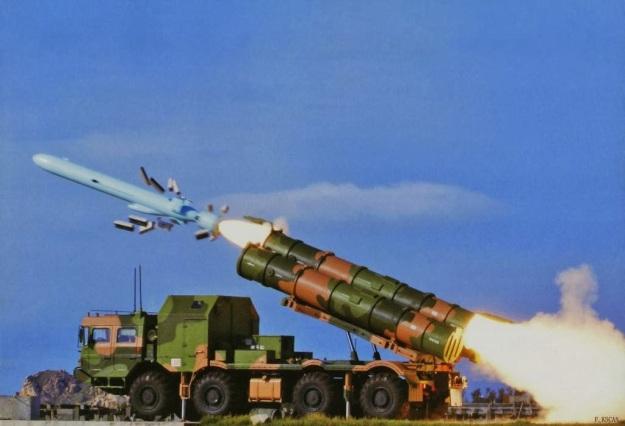 YJ-62 Long Range Anti Ship Cruise Missile (ACSM) Yingji-62 People's Liberation Army Navy export pakistan coastal defence missile system china chinese (3).jpg