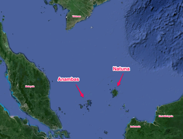 Anambas-Natuna-islands