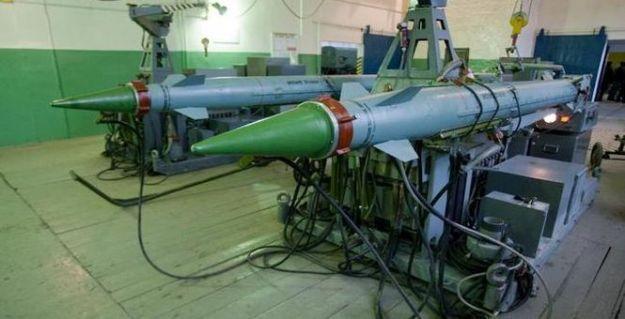 77N6-N & 77N6-N1 Missiles at an Integration Rig
