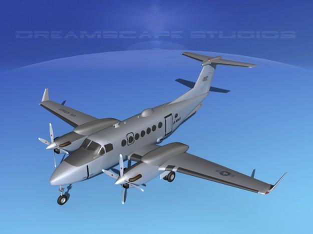 beechcraft-mc-12w-liberty-v02-3d-model-rigged-max-obj-3ds-lwo-lw-lws-dxf-stl