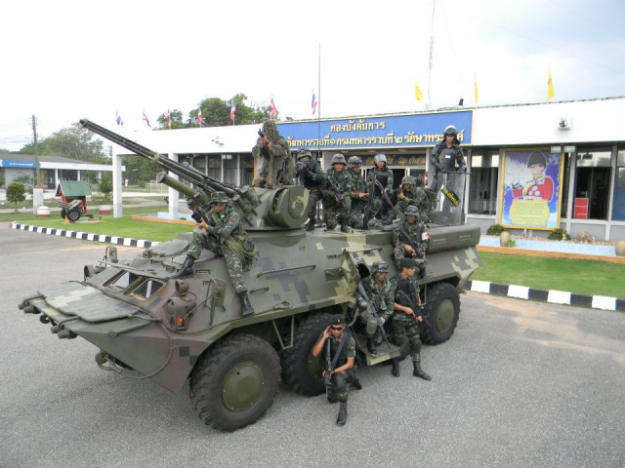 BTR-3E1 wheeled armoured vehicle personnel carrier | Thai