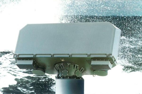 Saab-showcases-Sea-Giraffe-1X-air-and-surface-naval-radar