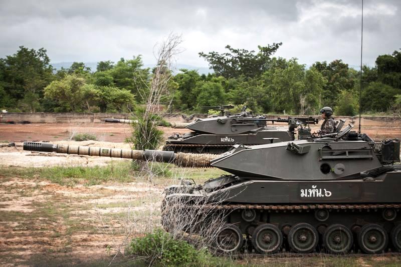 Stingray Tank Thai Military And Asian Region