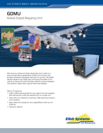 global-digital-mapping-unit-data-sheet-elbit-systems-of-america