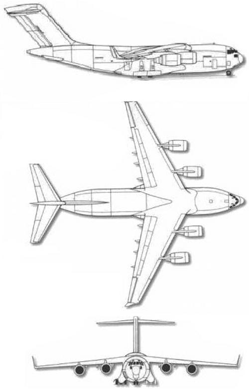 blueprints-aerei-airplanes-boeing-c-17-globemaster-iii