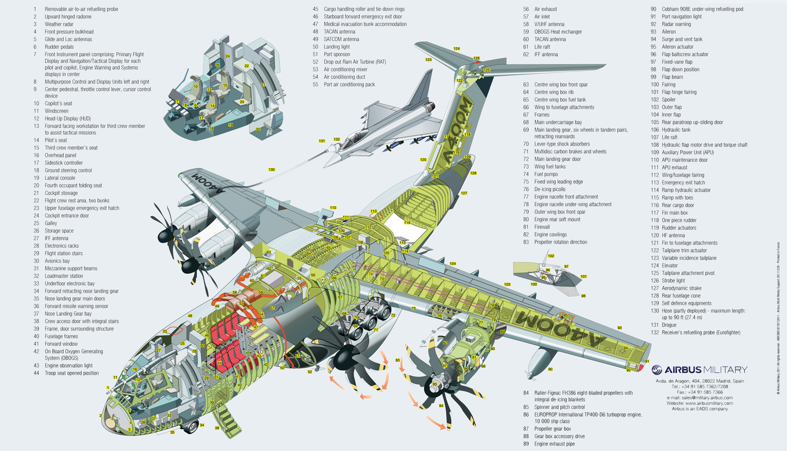 A400m Military Transport Aircraft Thai Military And