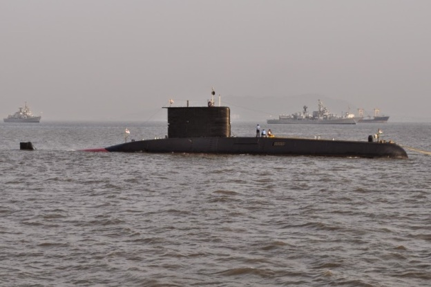 the-indian-type-209-submarine-shankush-on-review-position-two-days-prior-to-the-indian-presidents-fleet-review