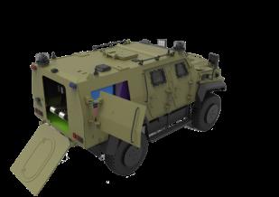 Explosive Disposal Vehicle (EOD)