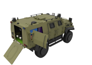 Explosive Disposal Vehicle (EOD)
