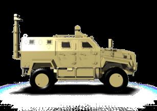 Border surveillance & Security Vehicle