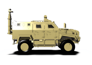 Border surveillance & Security Vehicle
