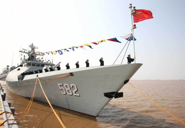 type-056-jiangdao-class-corvette-582-bengbu-officially-joined-esf-at-zhoushan-19