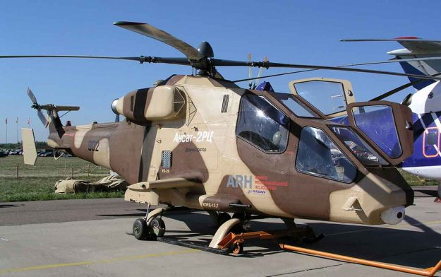 Kazan Ansat is a Russian light, multipurpose helicopter manufactured by Kazan Helicopters. gunship attack export (7).jpg