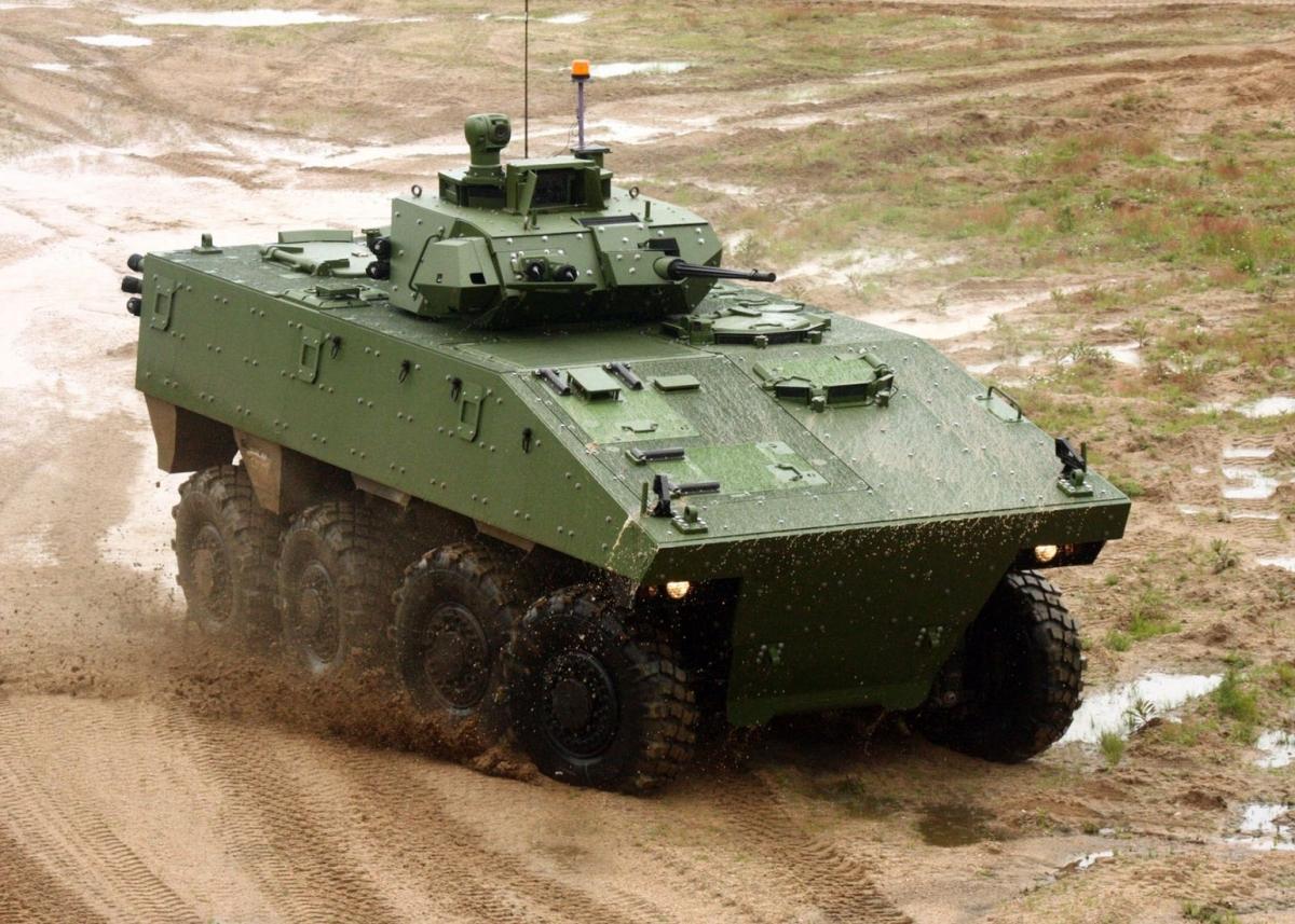 VBCI Nexter Wheeled armoured infantry fighting vehicle