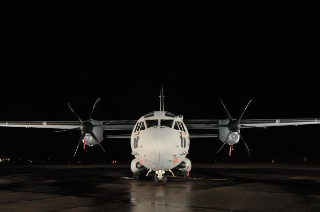 C27J Spartan visits Bradley Air National Guard Base