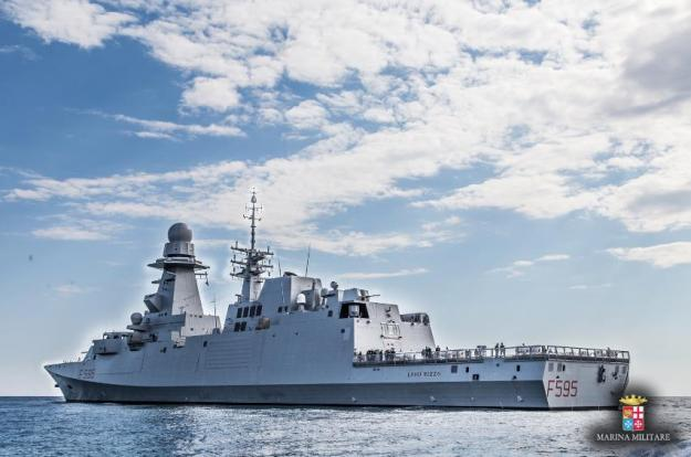 sixth-italian-navy-fremm-frigate-starts-sea-trials