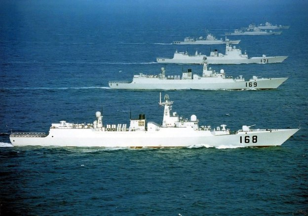 type-052b-guangzhou-class-wuhan-169-guided-missile-destroyers-of-the-peoples-liberation-army-navy-pla-navy-has-successfully-shot-down-an-incoming-anti-ship-missiles-during-a-naval-exercise-chine
