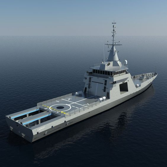 L Adroit Offshore Patrol Vessel France Thai Military