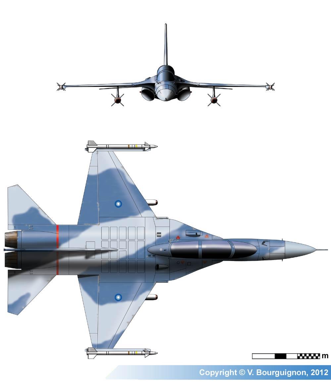 AIDC F-CK-1 Ching-kuo (IDF) Multirole Fighter Jet, Taiwan