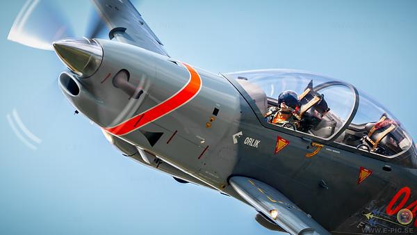 Poland - Air Force PZL-Okecie PZL-130 TC-II Turbo Orlik