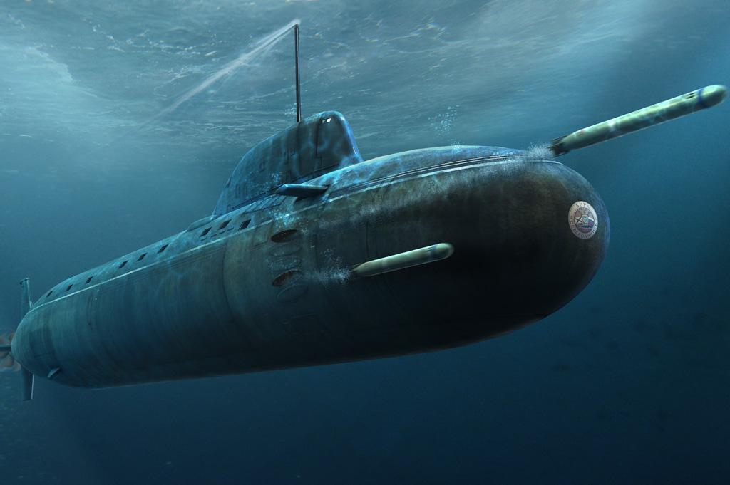 Submarino nuclear da classe Yasen