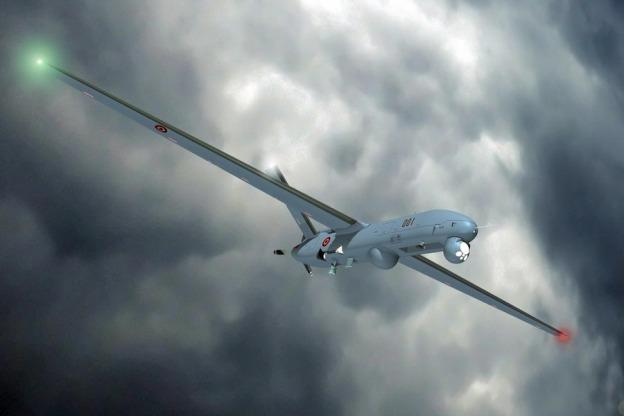 Anka MALE Unmanned Aerial Vehicle UAV