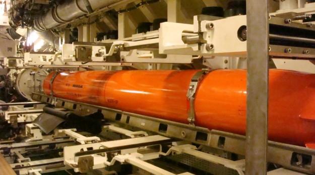 Exocet SM 39 in a Scorpene submarine